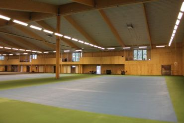 tennis hall in Sweden manufactured by WWLHOUSES
